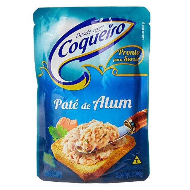 PATE DE ATUM TRADICIONAL COQUEIRO 170G