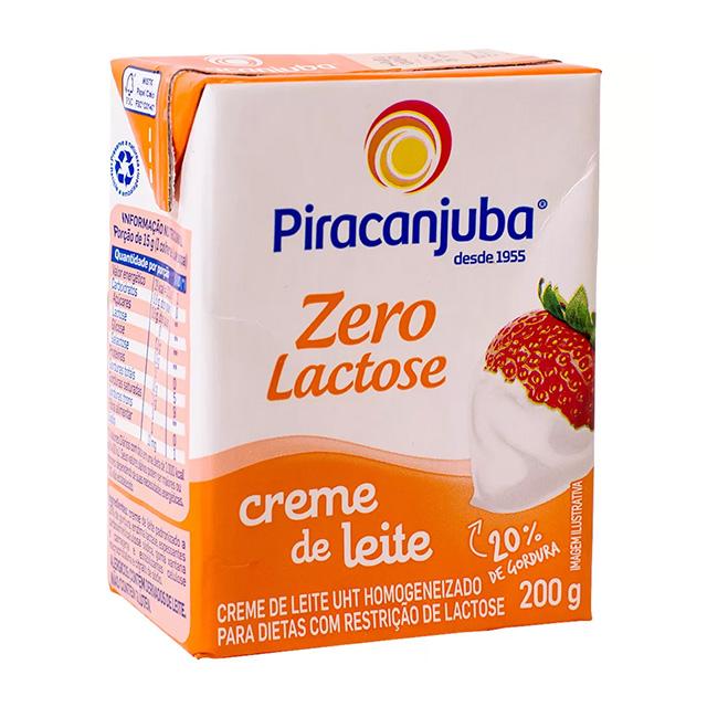 Creme de Leite Piracanjuba Zero Lactose 200g