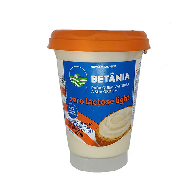 REQUEIJAO BETÂNIA ZERO LACTOSE LIGHT 200G