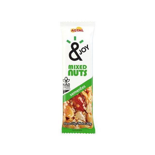 BARRA &JOY MIXED NUTS SEMENTES 30GR