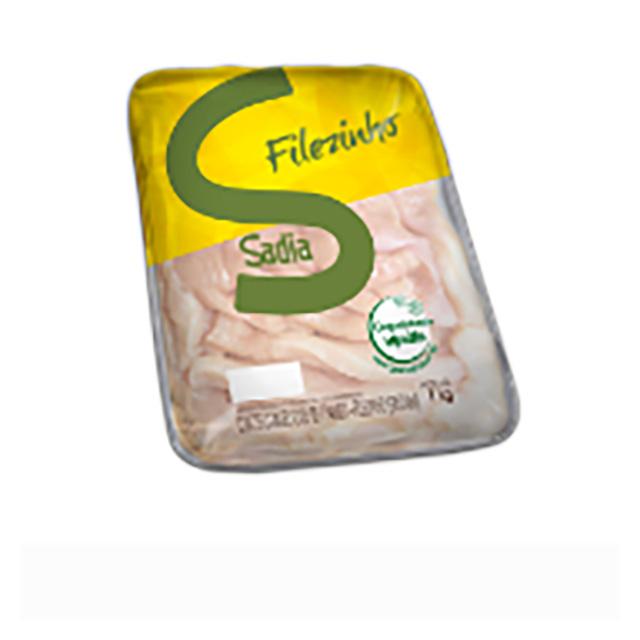 Filezinho De Peito De Frango Congelado Sadia 1kg