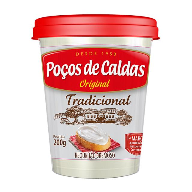 REQUEIJÃO CREMOSO POÇOS DE CALDAS TRADICIONAL 200G