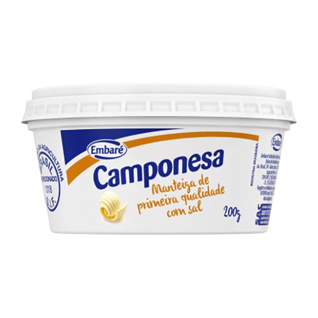MANTEIGA CAMPONESA COM SAL 200G