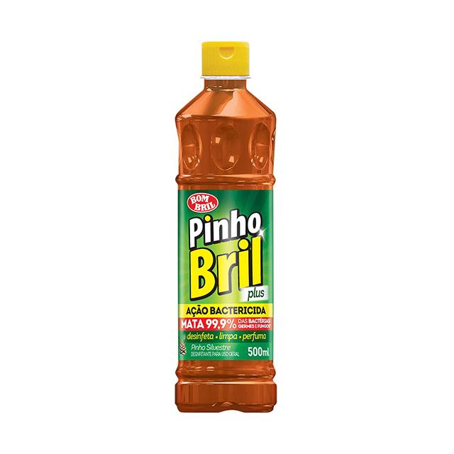 Desinfetante de Pinho Bril Silvestre 500ml