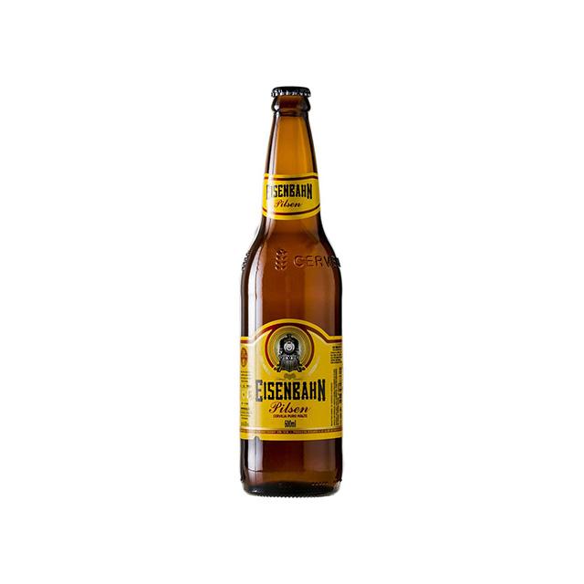Cerveja Eisenbahn Pilsen 600ml
