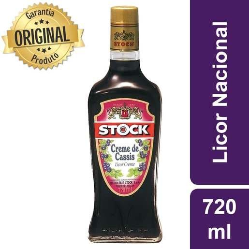LICOR DE CASSIS STOCK 720ML
