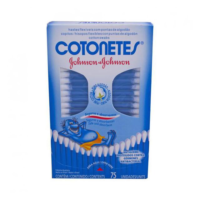 COTONETES JOHNSONS 75 UNIDADES