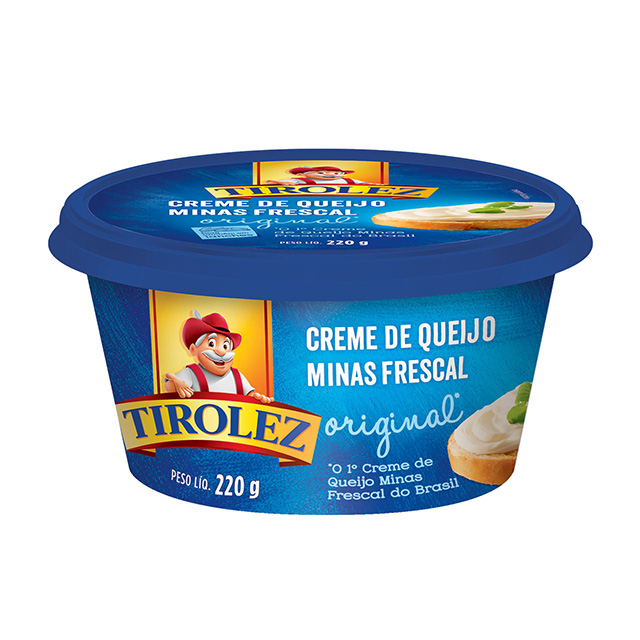 CREME QUEIJO MINAS FRESCAL TIROLEZ 220G