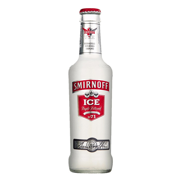 BEBIDA SMIRNOFF ICE LONG NECK RED 275ML