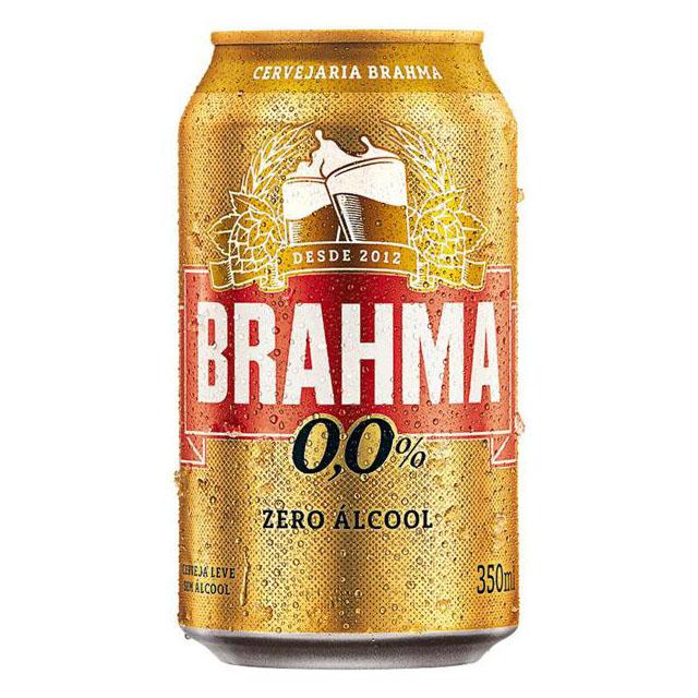 CERV BRAHMA ZERO ALCOOL LATA 350ML
