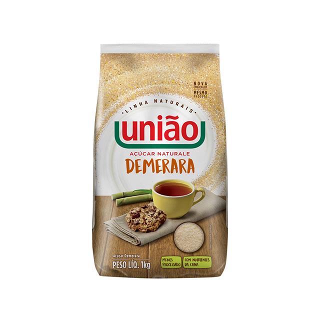 ACUCAR UNIAO NATURALE DEMERARA 1KG