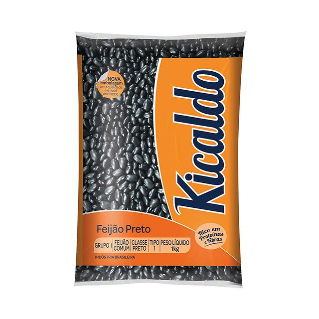 Feijão Preto Kicaldo 1kg