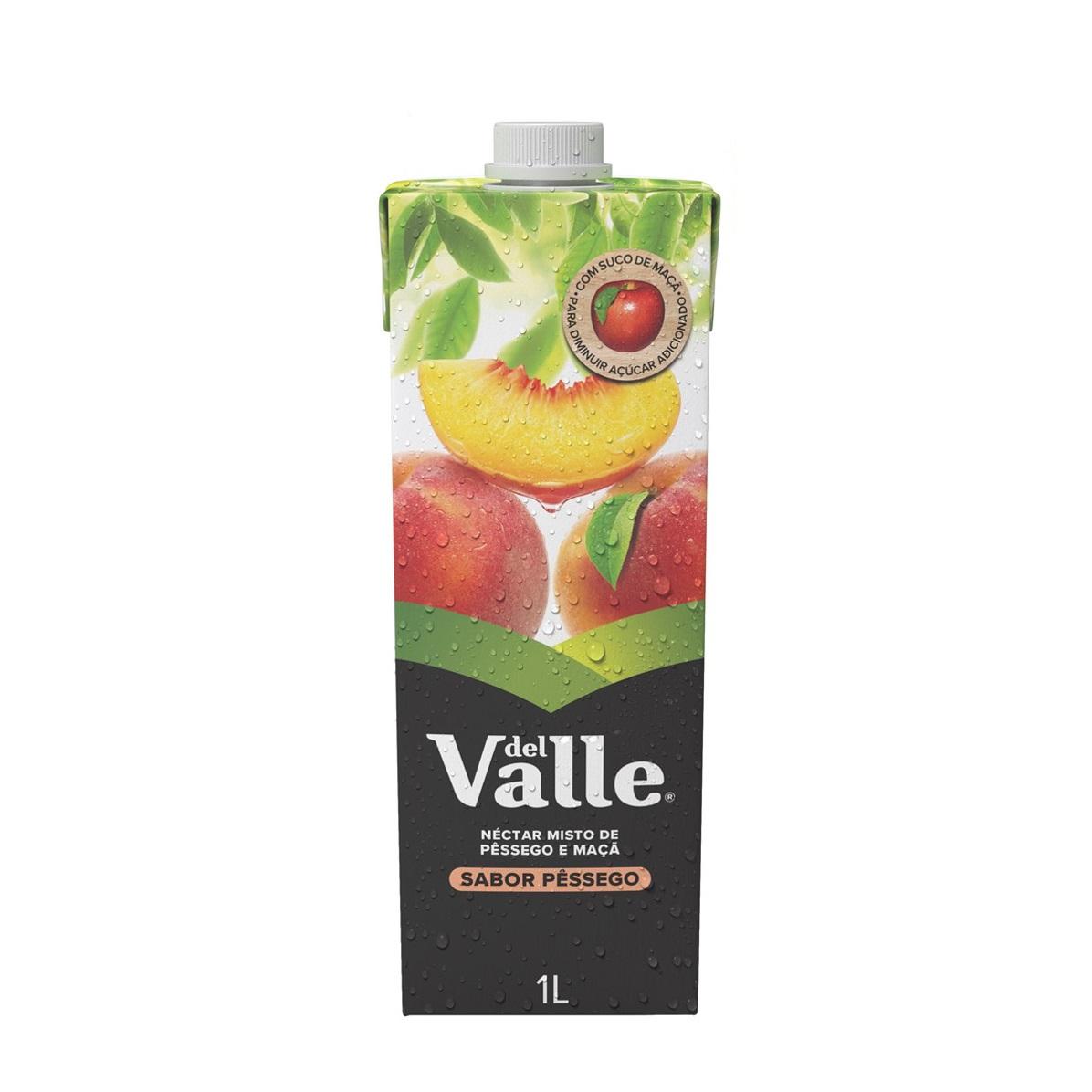 DEL VALLE MAIS NEC PESSEGO 1L
