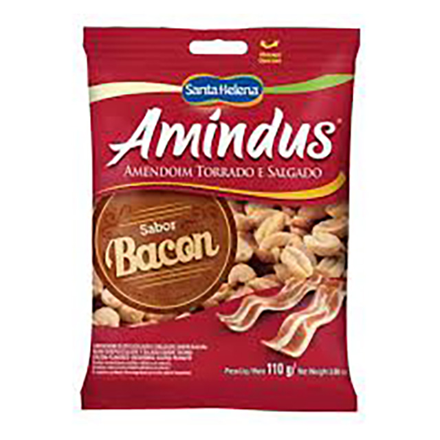AMENDOIM TORR AMINDUS BACON 110G