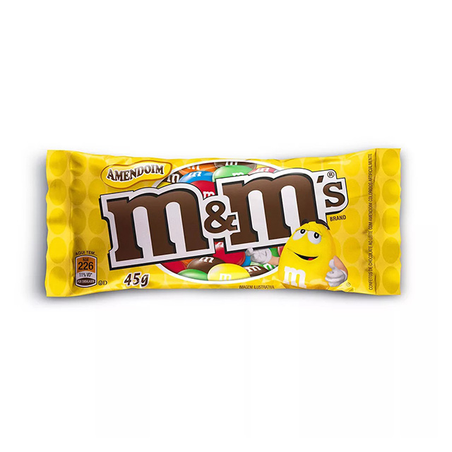 CHOCOLATE M&MS AMENDOIM 45G