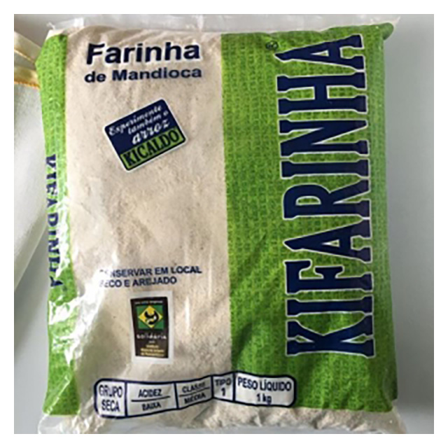 FARINHA DE MANDIOCA KIFARINHA 1KG