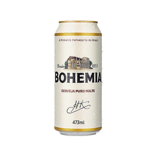 Cerveja Bohemia Latão 473ml