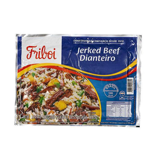 Charque Dianteiro Masterboi Jerked Beef 500g