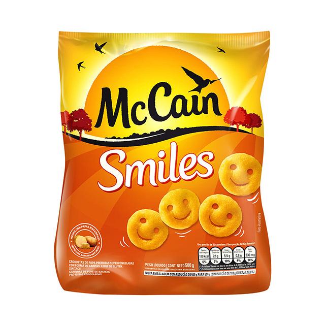 BATATA SMILES MCCAIN 500G