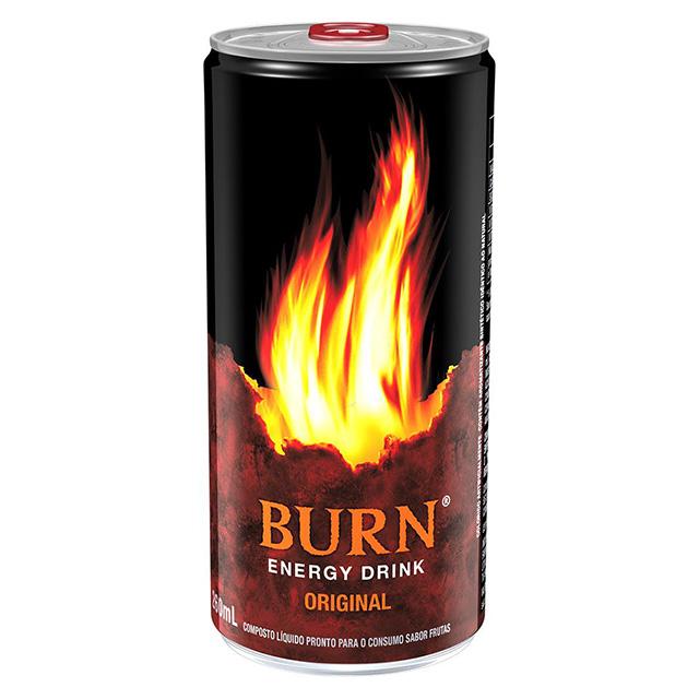 ENERGÉTICO BURN ORIGINAL LATA 260 ML