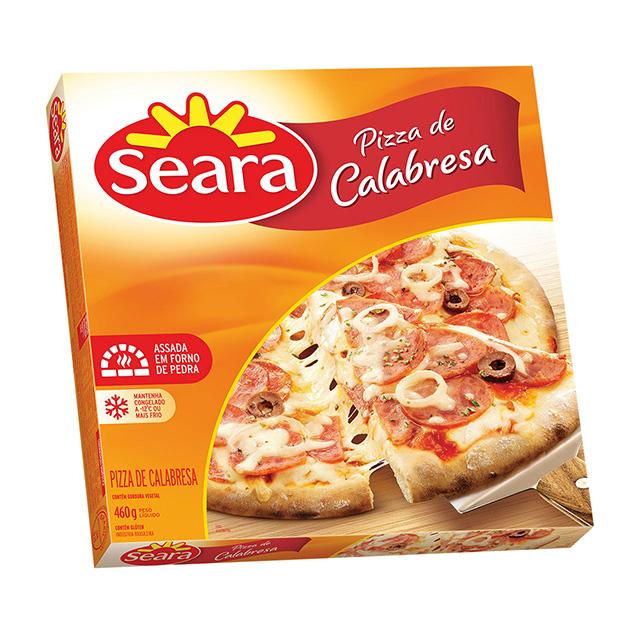 Pizza Seara De Calabresa 460g