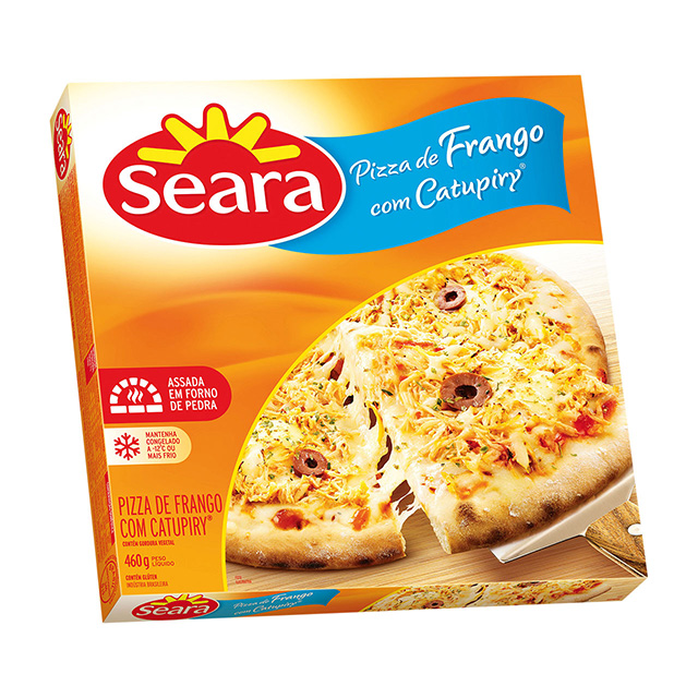 Pizza Seara De Frango Com Catupiry 460g