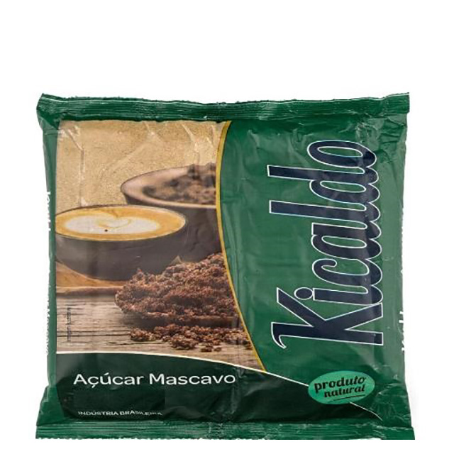 ACUCAR MASCAVO KICALDO 500G