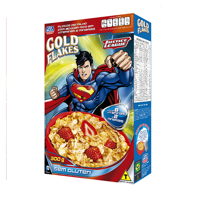 CEREAL GOLD FLAKES S/ GLUTEM SAO BRAZ 300G