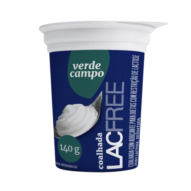 COALHADA VERDE CAMPO LACFREE 140G (VALIDADE 12/07/2020)