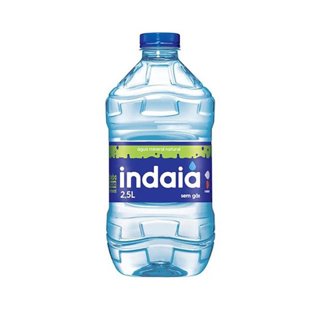 Água Mineral Indaiá Sem Gás 2,5l