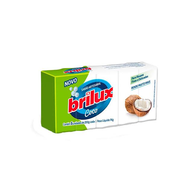 SABAO EM BARRA BRILUX COCO 1KG