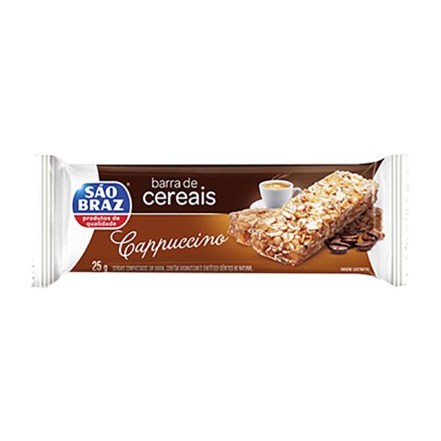 BARRA CEREAIS SAO BRAZ CAST CAJU/CHOC 25G