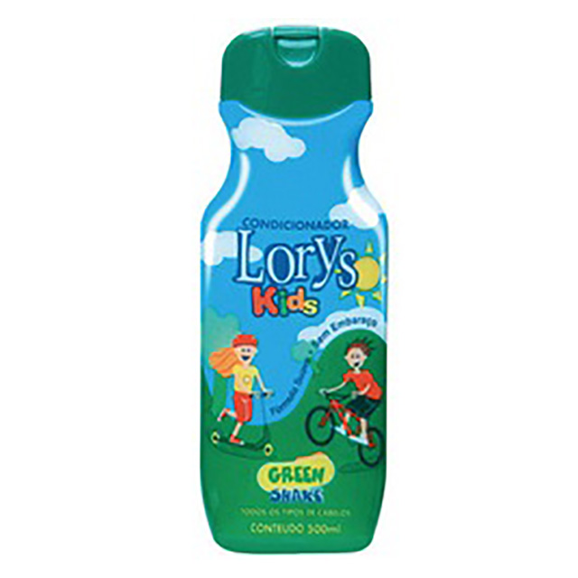COND INF LORYS KIDS GREEN SHAKE 500 ML