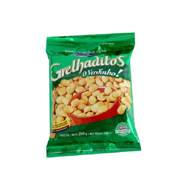 Amendoim Santa Helena Grelhaditos 200g