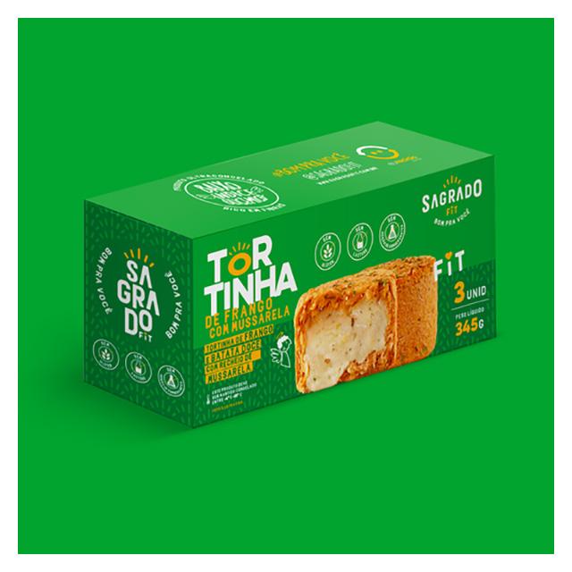 TORTINHA SAGRADO FIT FRANGO C/3 345G