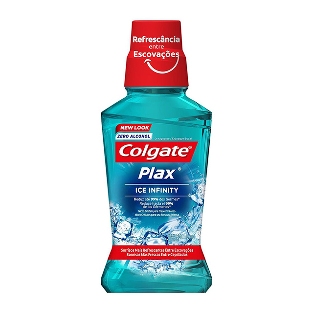 ANTISSÉPTICO BUCAL COLGATE PLAX ICE 250ML