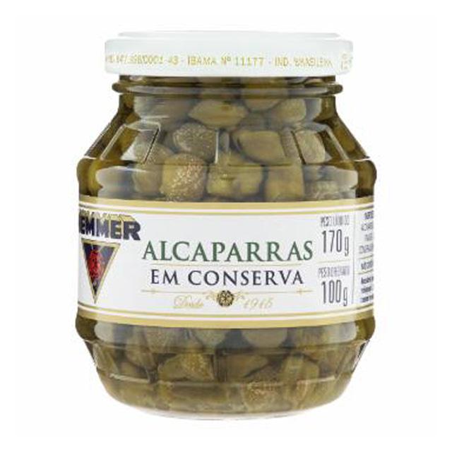 ALCAPARRAS HEMMER VIDRO 100G