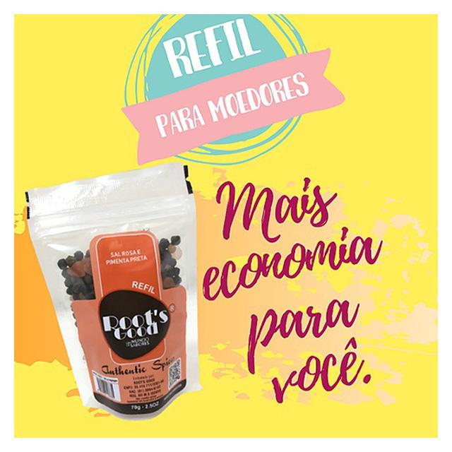 REFIL ROOTS GOOD SAL ROSA E PIMENTA PRETA 70G