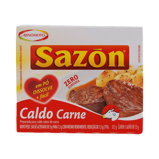 CALDO SAZON CARNE 37,5GR
